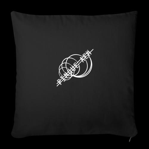 Pinque AEM Bianco - Cuscino da divano 44 x 44 cm con riempimento
