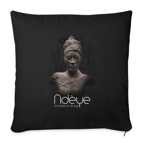 Ndèye - Cojín de sofá con relleno 44 x 44 cm