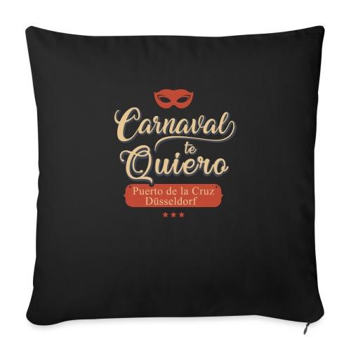Carnaval te quiero - Sofakissen mit Füllung 44 x 44 cm