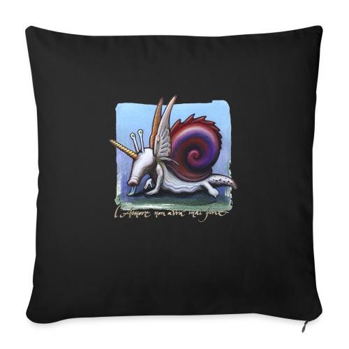 Unichiocciolo - Cuscino da divano 44 x 44 cm con riempimento