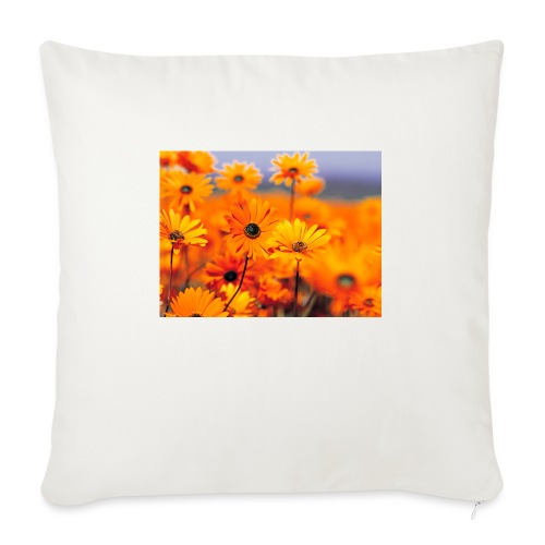 Flower Power - Sofa pillow with filling 45cm x 45cm