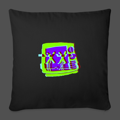 Glitchy Faythexx - Sofa pillow with filling 45cm x 45cm