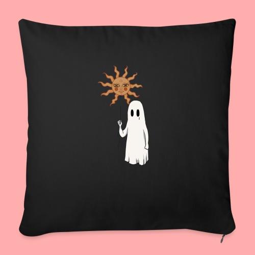 Fantôme et ballon de soleil - Coussin et housse de 45 x 45 cm