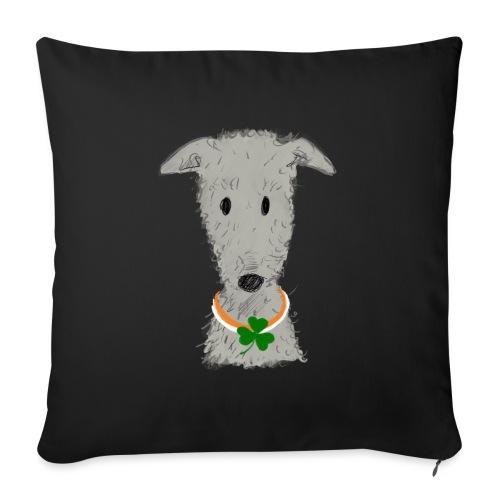 Irish Wolfhound - Sofakissen mit Füllung 44 x 44 cm