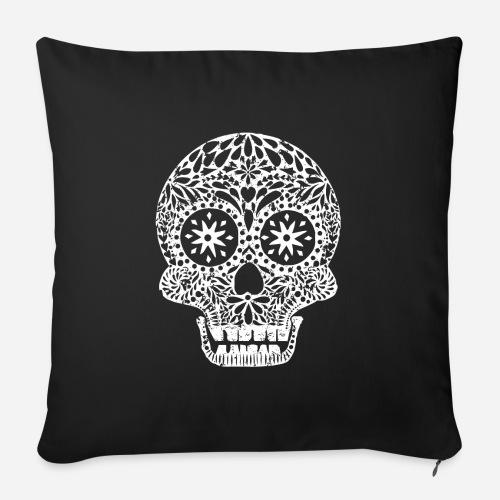 Dias de los Muertos   Skull   Der Tag der Toten - Sofakissen mit Füllung 44 x 44 cm