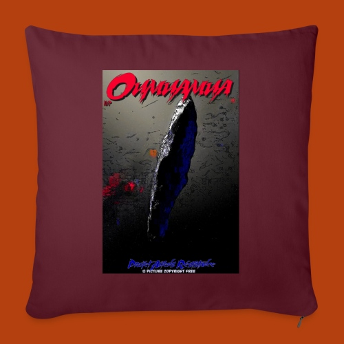 Oumuamua - Coussin et housse de 45 x 45 cm