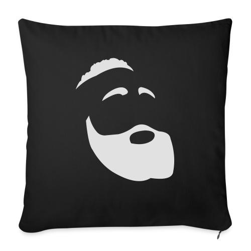 The Beard - Cuscino da divano 44 x 44 cm con riempimento