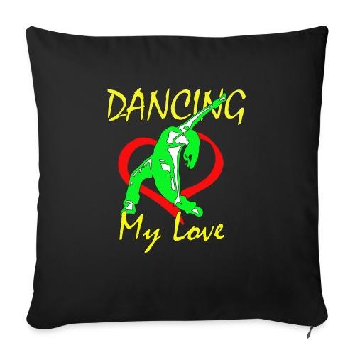 Dancing my Love - Sofakissen mit Füllung 44 x 44 cm