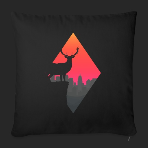 Sunset Deer - Sofa pillow with filling 45cm x 45cm