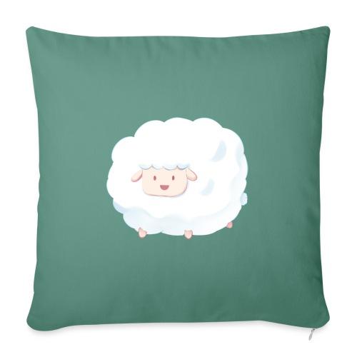 Sheep - Cuscino da divano 44 x 44 cm con riempimento