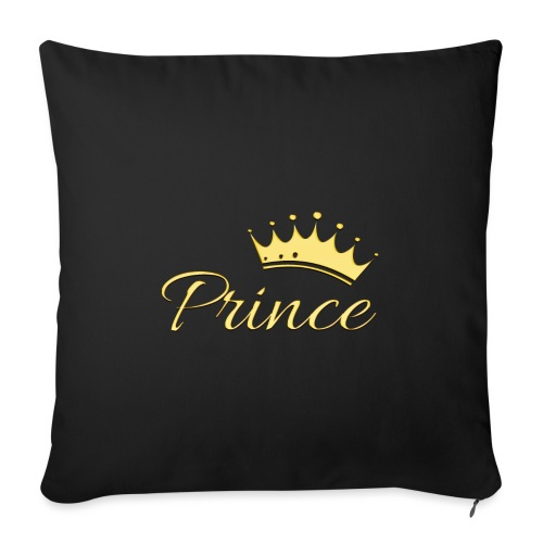 Prince Or -by- T-shirt chic et choc - Coussin et housse de 45 x 45 cm