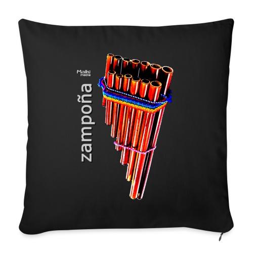 Zampoña - Sofa pillow with filling 45cm x 45cm