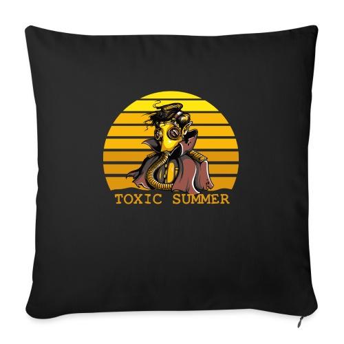 Toxic Summer - Cojín de sofá con relleno 44 x 44 cm