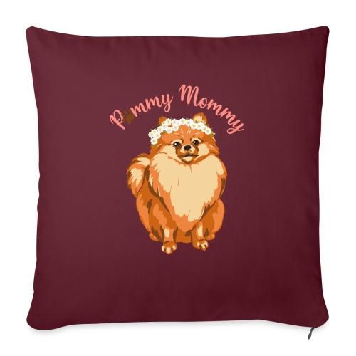 Pommy Mommy Pomeranian - Soffkudde med stoppning 44 x 44 cm