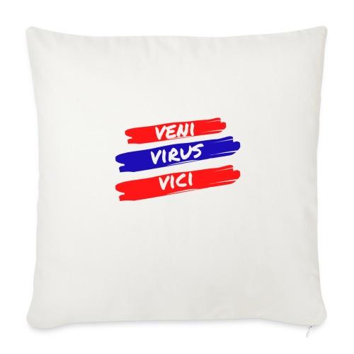 veni-virus-vici - Cuscino da divano 44 x 44 cm con riempimento