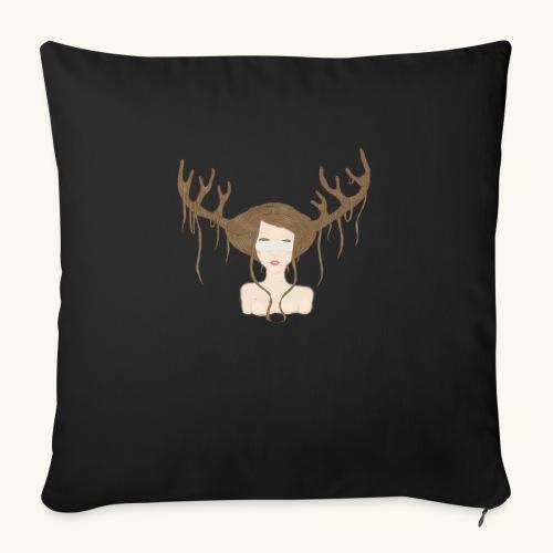 Blind Deer. - Coussin et housse de 45 x 45 cm