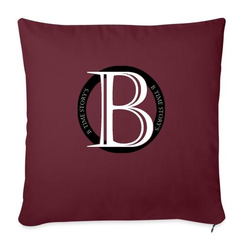 logo zwart - Bankkussen met vulling 44 x 44 cm