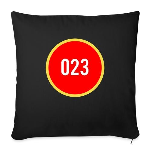 023 logo 2 - Bankkussen met vulling 44 x 44 cm