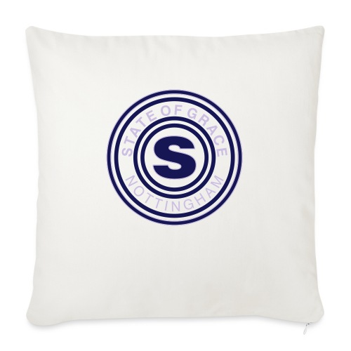 state of grace logo - Sofa pillow with filling 45cm x 45cm