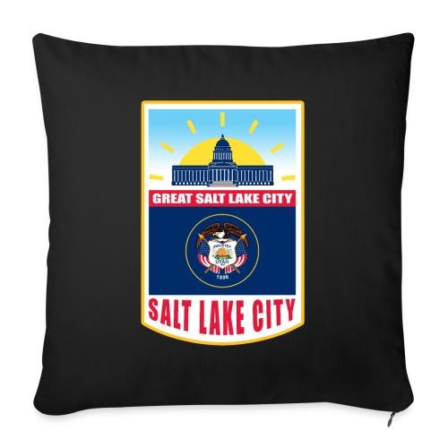 Utah - Salt Lake City - Sofa pillow with filling 45cm x 45cm