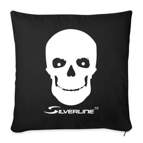 Silverline Skull - Sofakissen mit Füllung 44 x 44 cm