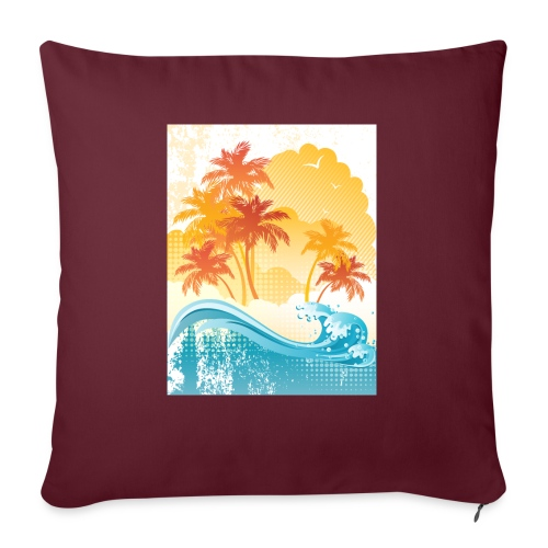 Palm Beach - Sofa pillow with filling 45cm x 45cm
