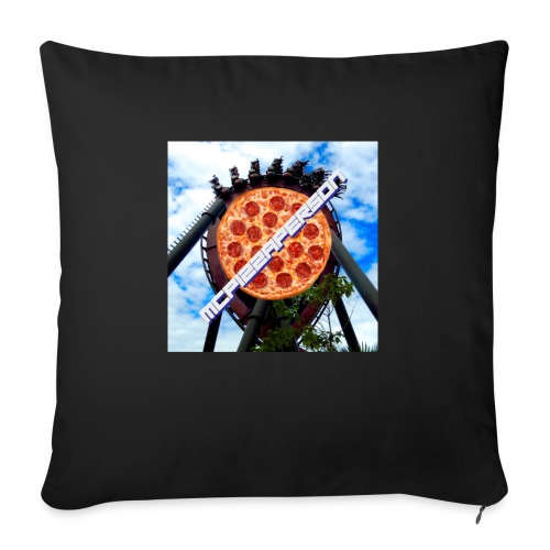 Old McPizzaPerson Logo #2 - Sofa pillow with filling 45cm x 45cm