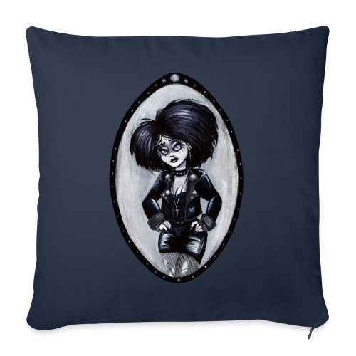 Trad Goth Art by E. R. Whittingham - Sofa pillow with filling 45cm x 45cm
