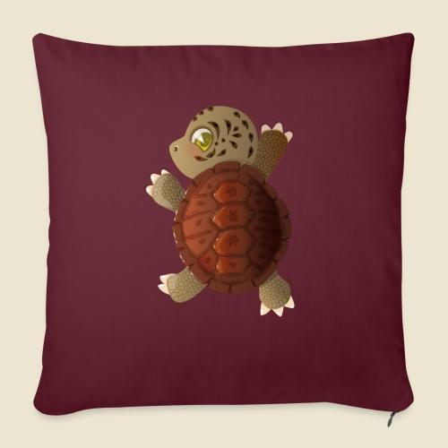 Bébé tortue - Coussin et housse de 45 x 45 cm