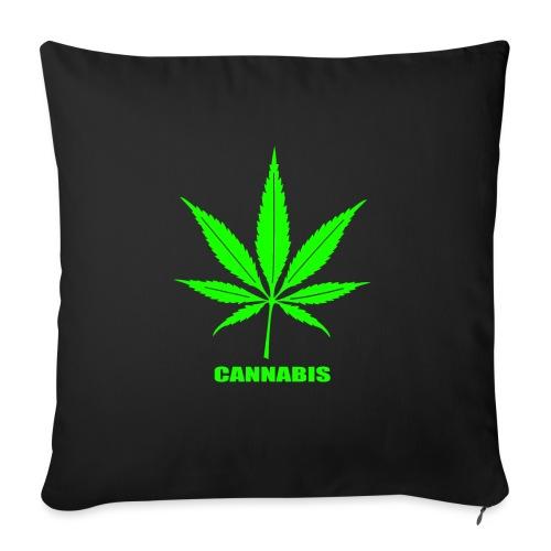 cannabis, cannabis community, amsterdam, art, love - Sofa pillow with filling 45cm x 45cm