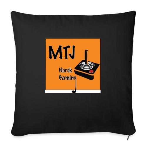 Mtj Logo - Sofapute med fylling 44 x 44 cm