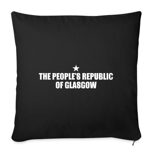 People's Republic Glasgow - Sofa pillow with filling 45cm x 45cm