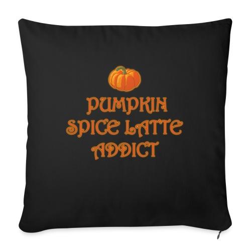 PumpkinSpiceAddict - Cuscino da divano 44 x 44 cm con riempimento