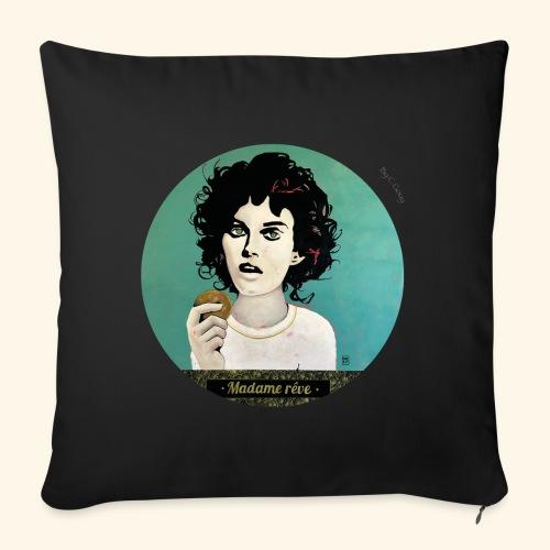 Madame rêve - Coussin et housse de 45 x 45 cm