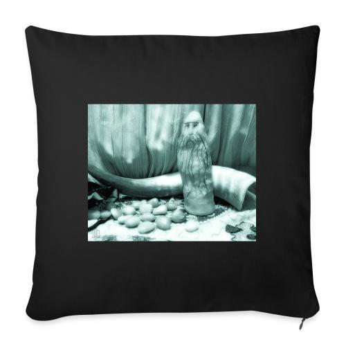 Odino e le Rune - Cuscino da divano 44 x 44 cm con riempimento