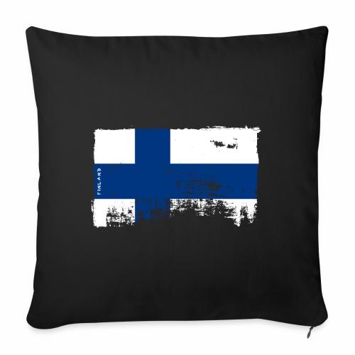 Suomen lippu, Finnish flag T-shirts 151 Products - Sohvatyynyt täytteellä 44 x 44 cm