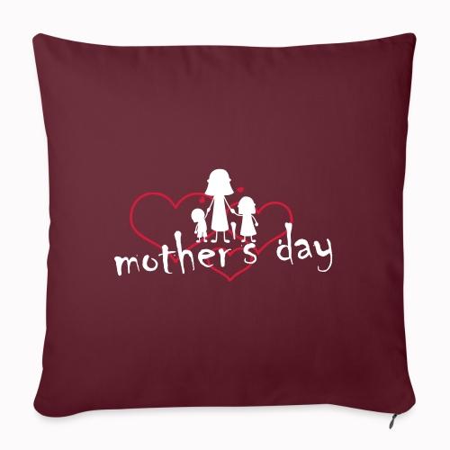 mother's day - Cuscino da divano 44 x 44 cm con riempimento
