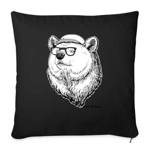 Lights Of Siberia - Sofa pillow with filling 45cm x 45cm