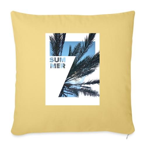 Summertime - Bankkussen met vulling 44 x 44 cm