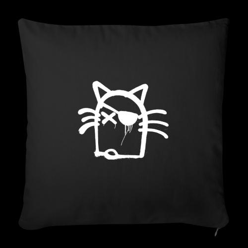 Coole Katze Sonja - Sofakissen mit Füllung 44 x 44 cm