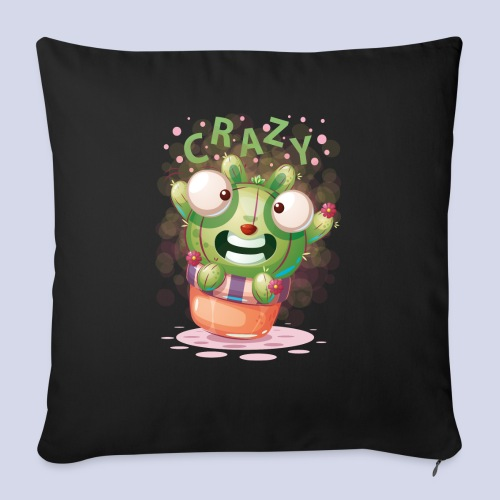Crazy funny monster design for everyone - Sofa pillow with filling 45cm x 45cm