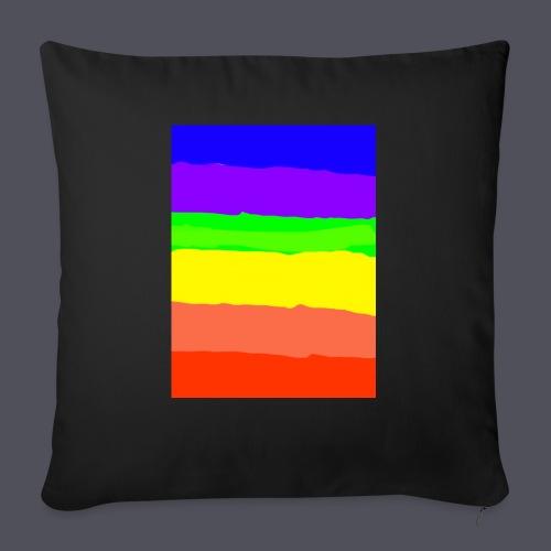 Rainbow - Sofa pillow with filling 45cm x 45cm