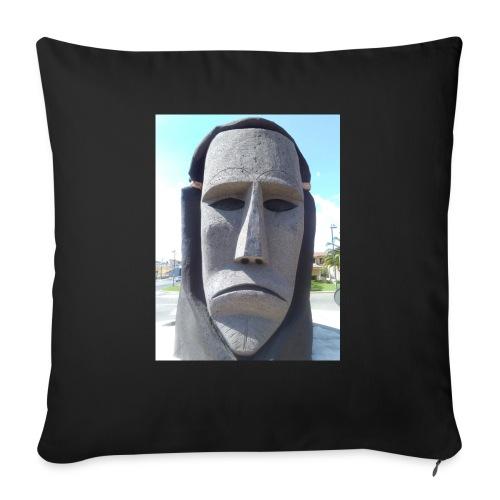 Ottana - Cuscino da divano 44 x 44 cm con riempimento