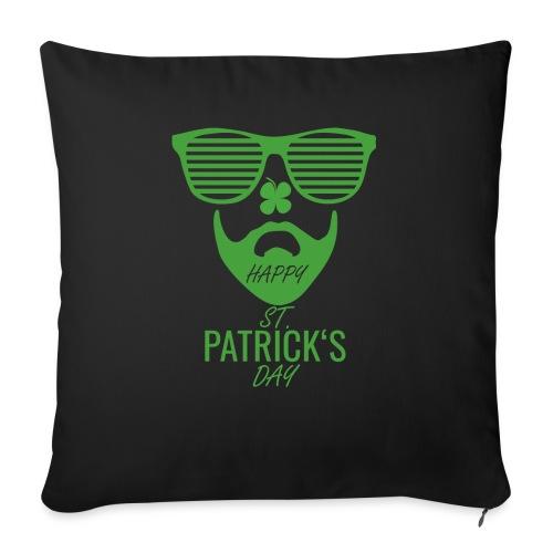 Happy St. Patrick's Beard Day - Sofakissen mit Füllung 44 x 44 cm