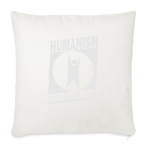 Humanism - Sofa pillow with filling 45cm x 45cm