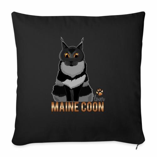 Maine Coon lover - Coussin et housse de 45 x 45 cm
