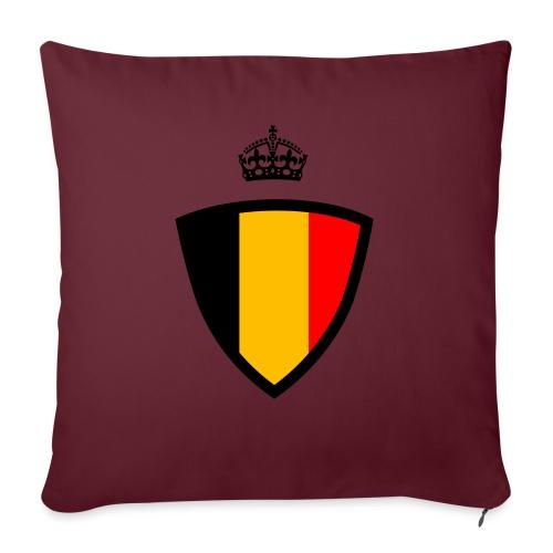 Koninkrijk belgië schild - Coussin et housse de 45 x 45 cm