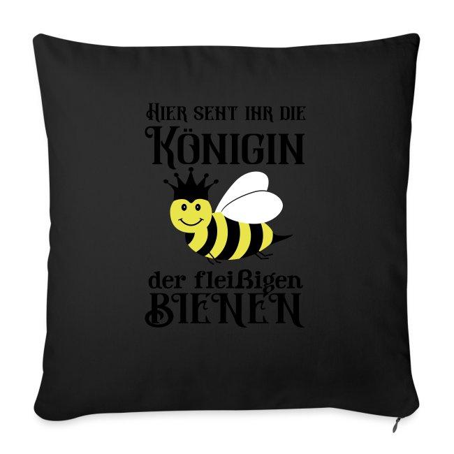 Danke Sagen Fleißige Biene Königin Spruch Sofakissen Mit Füllung 44 X 44 Cm