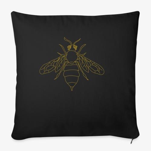 Honeybee - Bankkussen met vulling 44 x 44 cm