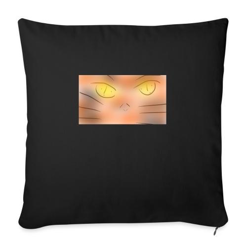 Cat un the un un night gato o animé - Cojín de sofá con relleno 44 x 44 cm